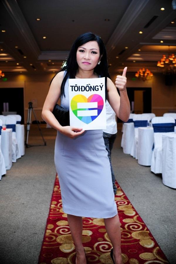 Nhiều sao Việt lên tiếng ủng hộ cho người đồng tính 12