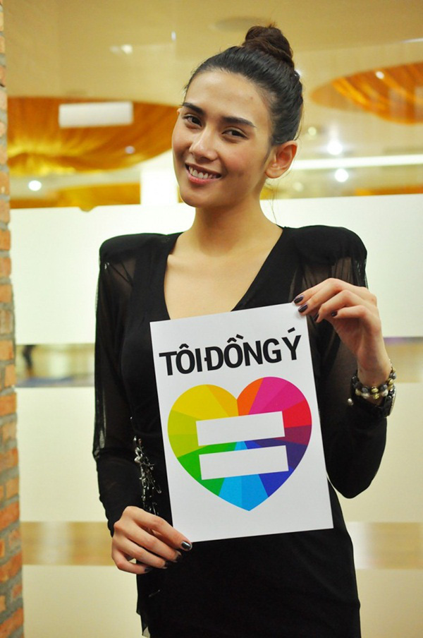 Nhiều sao Việt lên tiếng ủng hộ cho người đồng tính 13