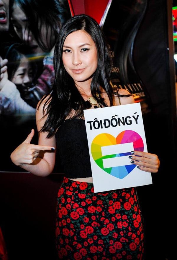 Nhiều sao Việt lên tiếng ủng hộ cho người đồng tính 4