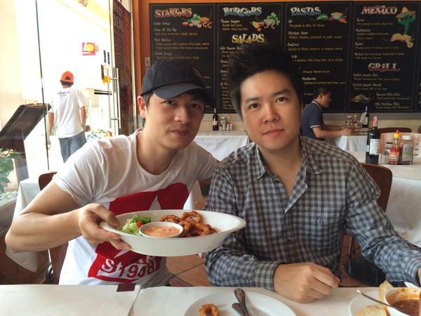 Hậu chia tay Văn Mai Hương, Lê Hiếu vui vẻ đi bar với Tăng Thanh Hà 4