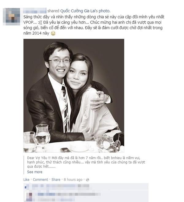 """Cư dân mạng và sao Việt """"hối thúc"""" Hà Hồ đồng ý lấy Cường Đô La 8"""