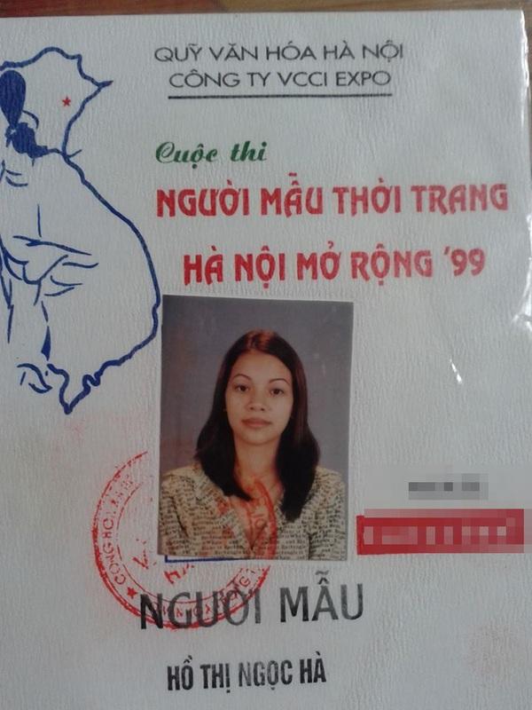 Bạn bè chia sẻ ảnh thẻ 15 năm trước của Hồ Ngọc Hà  2