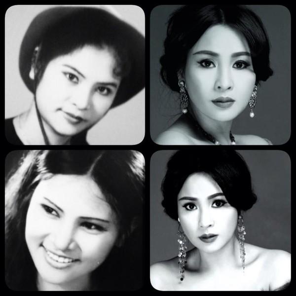 """Ngắm vẻ đẹp qua năm tháng của 4 """"nữ hoàng"""" showbiz Việt 3"""