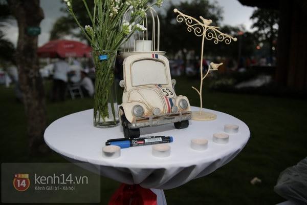 Khánh Linh rạng rỡ trong lễ cưới đặc biệt tổ chức ở ngoài trời 22