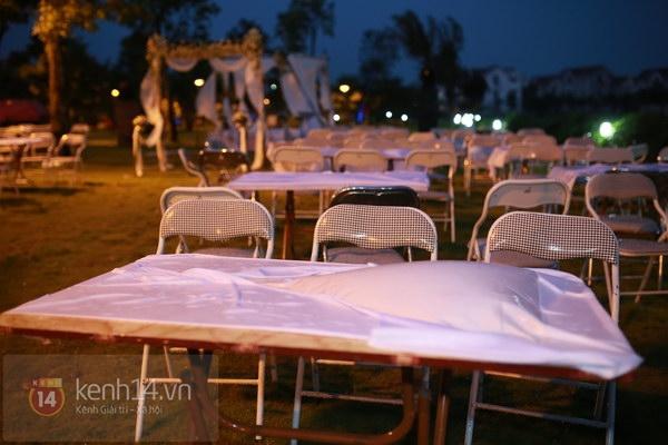 Khánh Linh rạng rỡ trong lễ cưới đặc biệt tổ chức ở ngoài trời 1