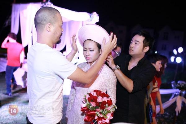 Khánh Linh rạng rỡ trong lễ cưới đặc biệt tổ chức ở ngoài trời 3