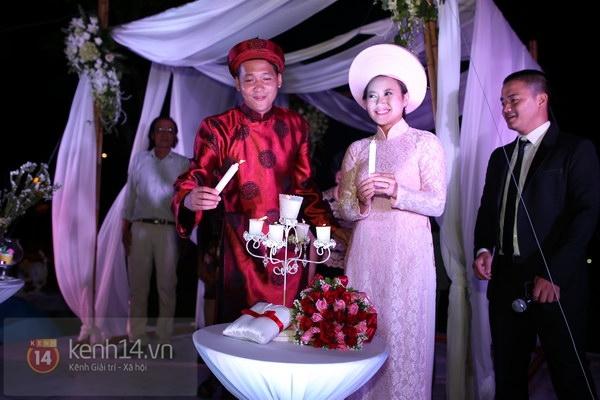 Khánh Linh rạng rỡ trong lễ cưới đặc biệt tổ chức ở ngoài trời 21