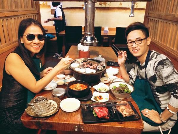 Thu Minh vui vẻ tận hưởng mùa thu Hàn Quốc 3