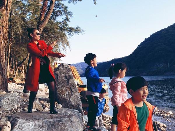 Thu Minh vui vẻ tận hưởng mùa thu Hàn Quốc 6