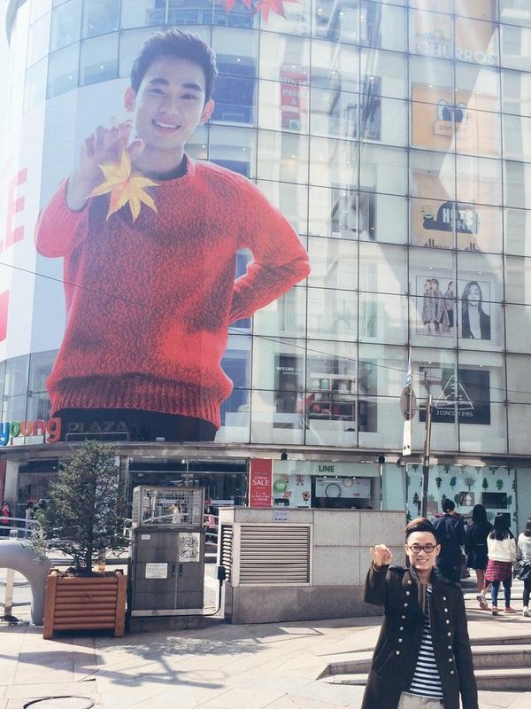 Thu Minh vui vẻ tận hưởng mùa thu Hàn Quốc 11