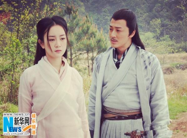Vương Ngữ Yên 2013 sánh vai mỹ nam TVB 1