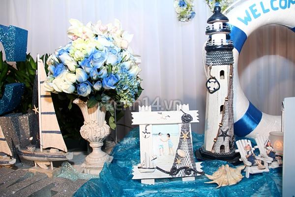 """Đám cưới đậm chất """"biển"""" của Thu Ngọc (Mây Trắng) 3"""