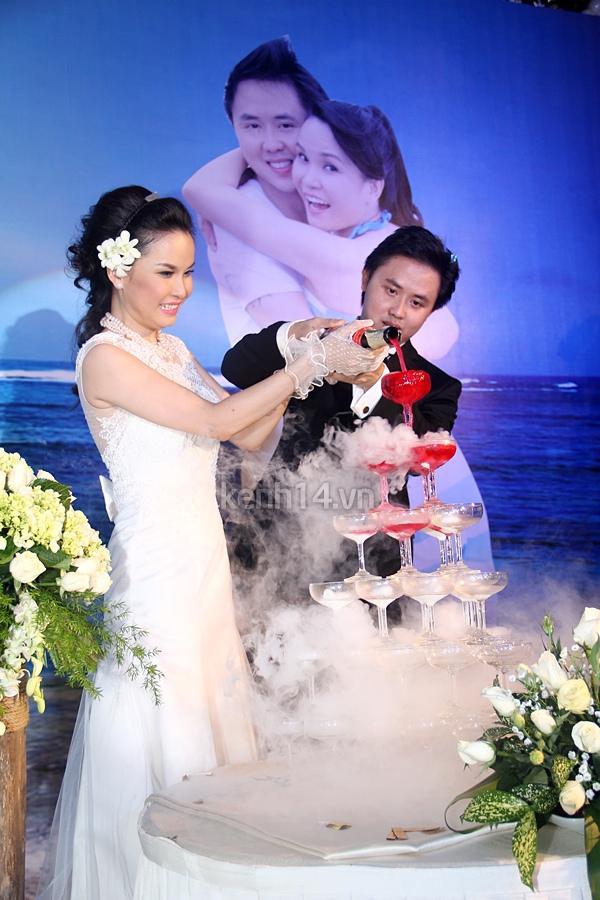 """Đám cưới đậm chất """"biển"""" của Thu Ngọc (Mây Trắng) 13"""