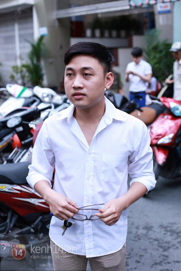 Các sao nghẹn ngào trong tang lễ toàn màu trắng của Wanbi Tuấn Anh 43