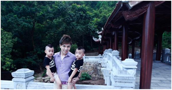Minh Vương (M4U) khoe 2 con trai nuôi song sinh 7
