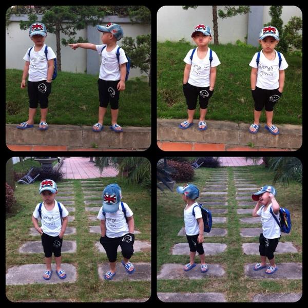 Minh Vương (M4U) khoe 2 con trai nuôi song sinh 11