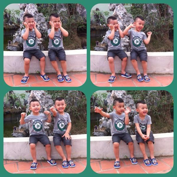 Minh Vương (M4U) khoe 2 con trai nuôi song sinh 13