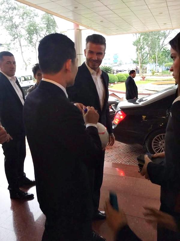 HOT: Hình ảnh đầu tiên của David Beckham tại Hà Nội 5