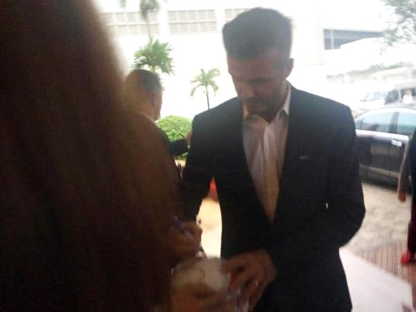 HOT: Hình ảnh đầu tiên của David Beckham tại Hà Nội 4