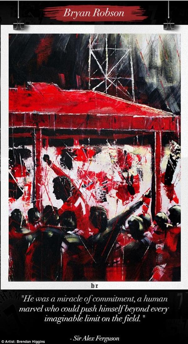 Chùm tranh đồ họa đặc biệt về các số 7 huyền thoại của Manchester United 4