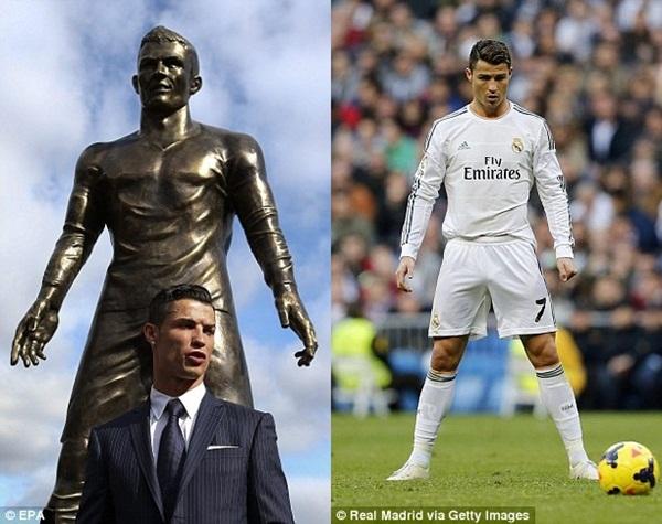 """Ronaldo tức tốc """"về quê"""" ra mắt tượng đồng CR7 khổng lồ 6"""