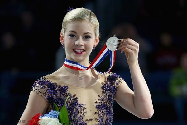 Vẻ đẹp rạng ngời của VĐV trượt băng nghệ thuật Gracie Gold 1