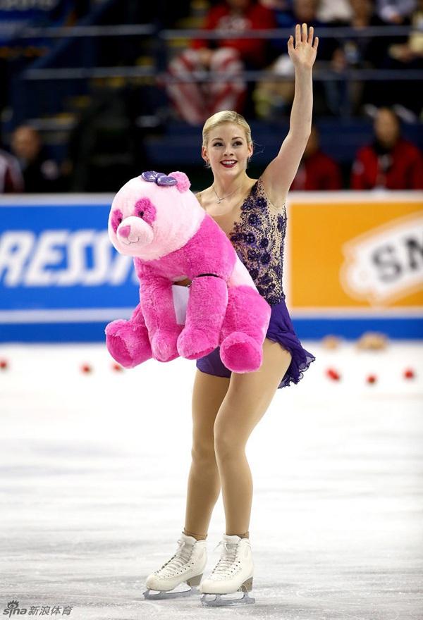 Vẻ đẹp rạng ngời của VĐV trượt băng nghệ thuật Gracie Gold 2