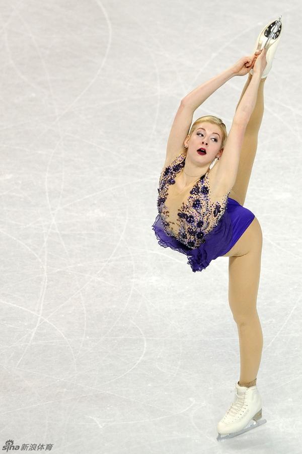 Vẻ đẹp rạng ngời của VĐV trượt băng nghệ thuật Gracie Gold 7
