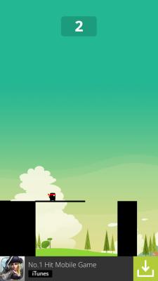 """Stick Hero - Game """"hại não"""" mới nổi trên smartphone 7"""