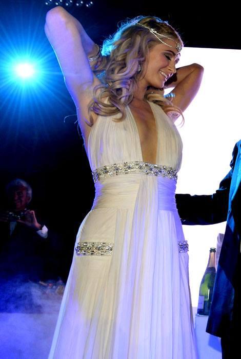Lý Nhã Kỳ dự tiệc cùng Paris Hilton, Sharon Stone tại Cannes 4