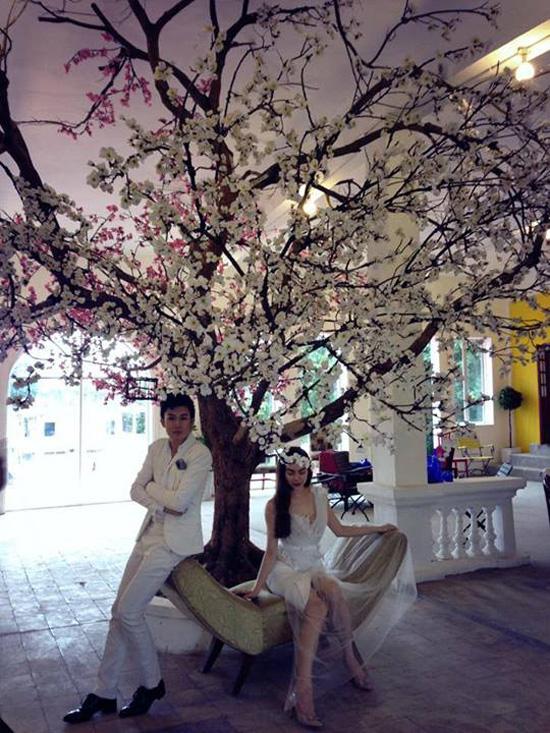 Hồ Ngọc Hà chụp ảnh cưới cùng Dương Triệu Vũ 3