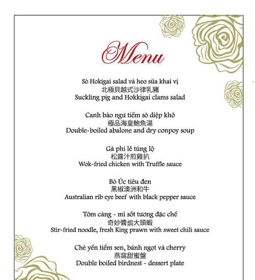 """Những chi tiết thú vị trong đám cưới """"5 sao"""" của Thanh Bùi 5"""