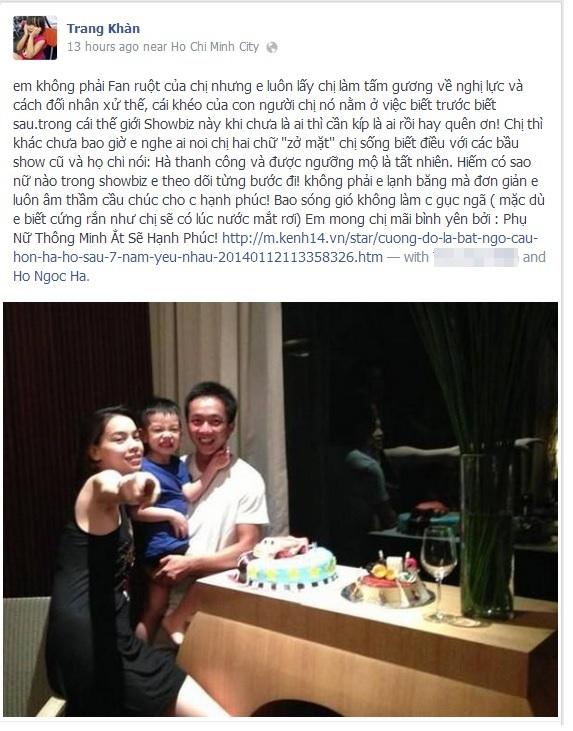 """Cư dân mạng và sao Việt """"hối thúc"""" Hà Hồ đồng ý lấy Cường Đô La 1"""