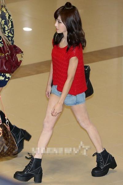 Những sao Hàn sở hữu đôi chân không đẹp 8