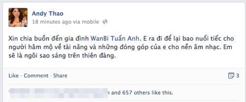 Sao Việt tiếc thương sự ra đi của Wanbi Tuấn Anh 10