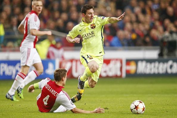 Barcelona thắng nhàn, Messi cân bằng kỷ lục 2
