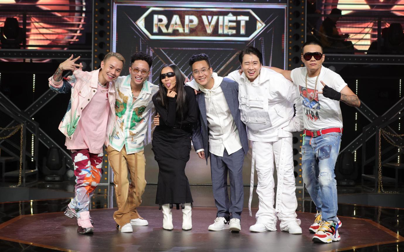 Cùng Rap Việt đánh chiếm top 1 trending YouTube, SpaceSpeakers...