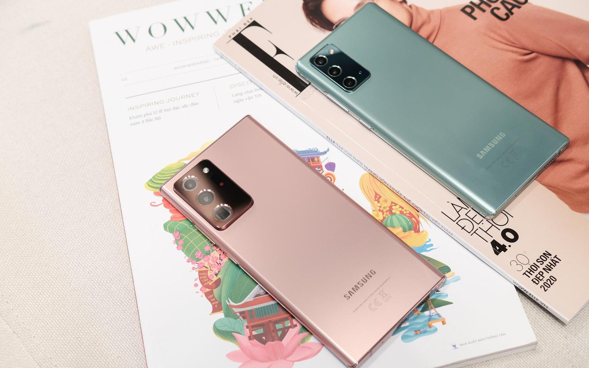 Nhìn lại màn ra mắt siêu phẩm Galaxy Note20: Sẵn sàng đưa thế giới bước vào kỷ nguyên 5G