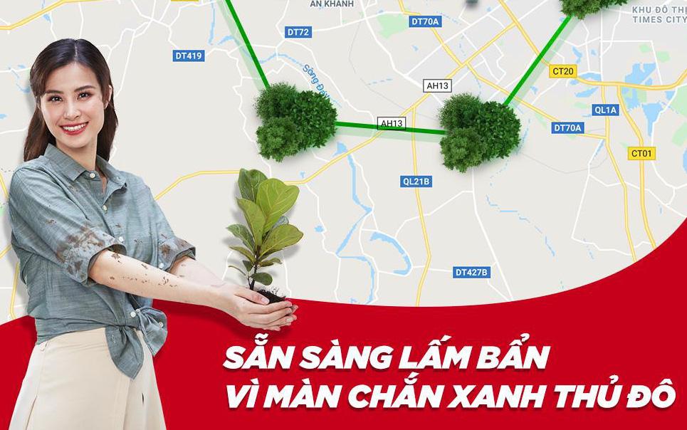 """Khi """"Màn chắn xanh"""" Việt Nam kiên cố cũng là lúc Thủ đô mình được """"bảo vệ"""""""