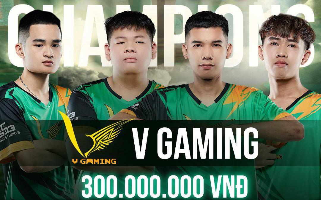 Chung kết PMPL VN S2: V Gaming lên ngôi vô địch, chấm dứt thời đại thống trị của BOX Gaming