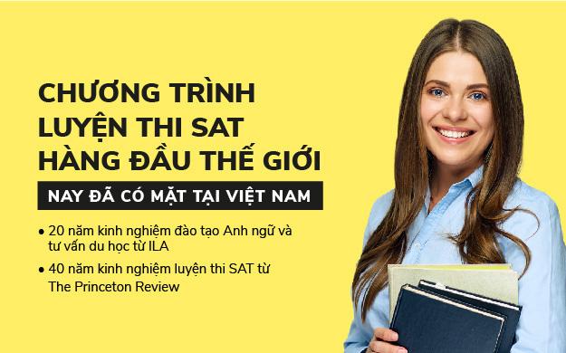 ILA ra mắt chương trình luyện thi SAT hàng đầu thế giới