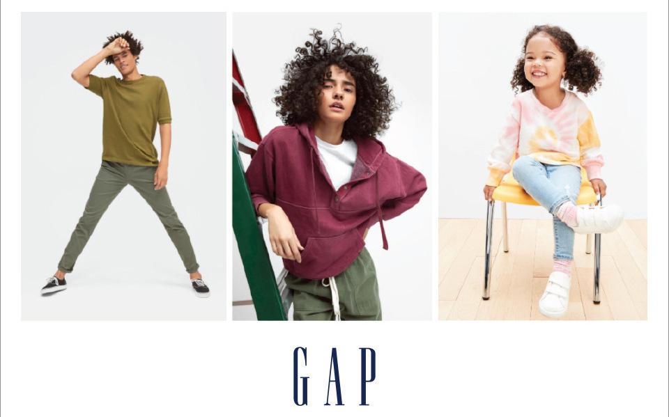F5 tủ quần áo với siêu ưu đãi đến từ GAP - thương hiệu thời trang Mỹ