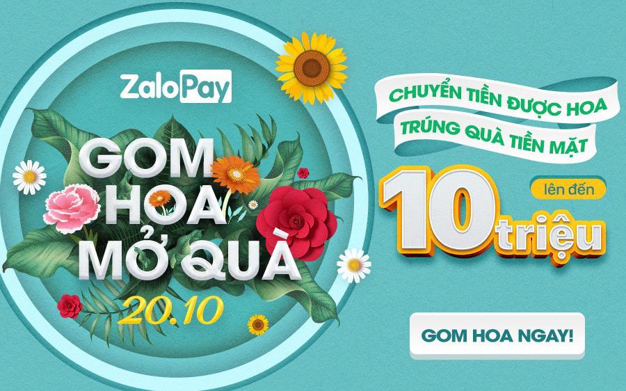 Cư dân mạng đổ xô gom hoa tặng nhau trên ứng dụng Zalo nhân dịp 20.10