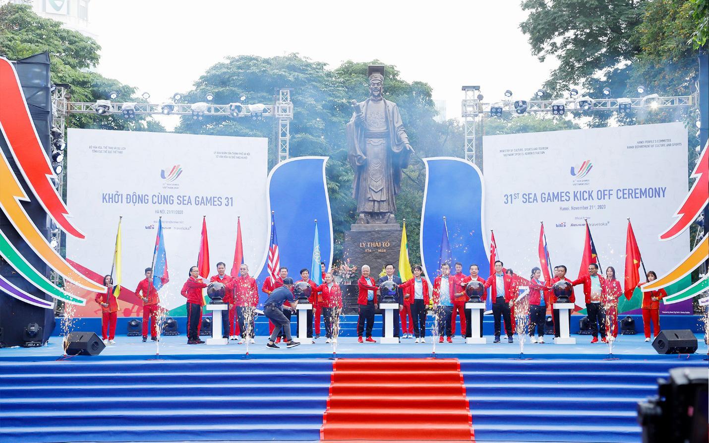 Khởi động SEA Games 31 - Đếm ngược một năm sẵn sàng đại hội thể thao Đông Nam Á