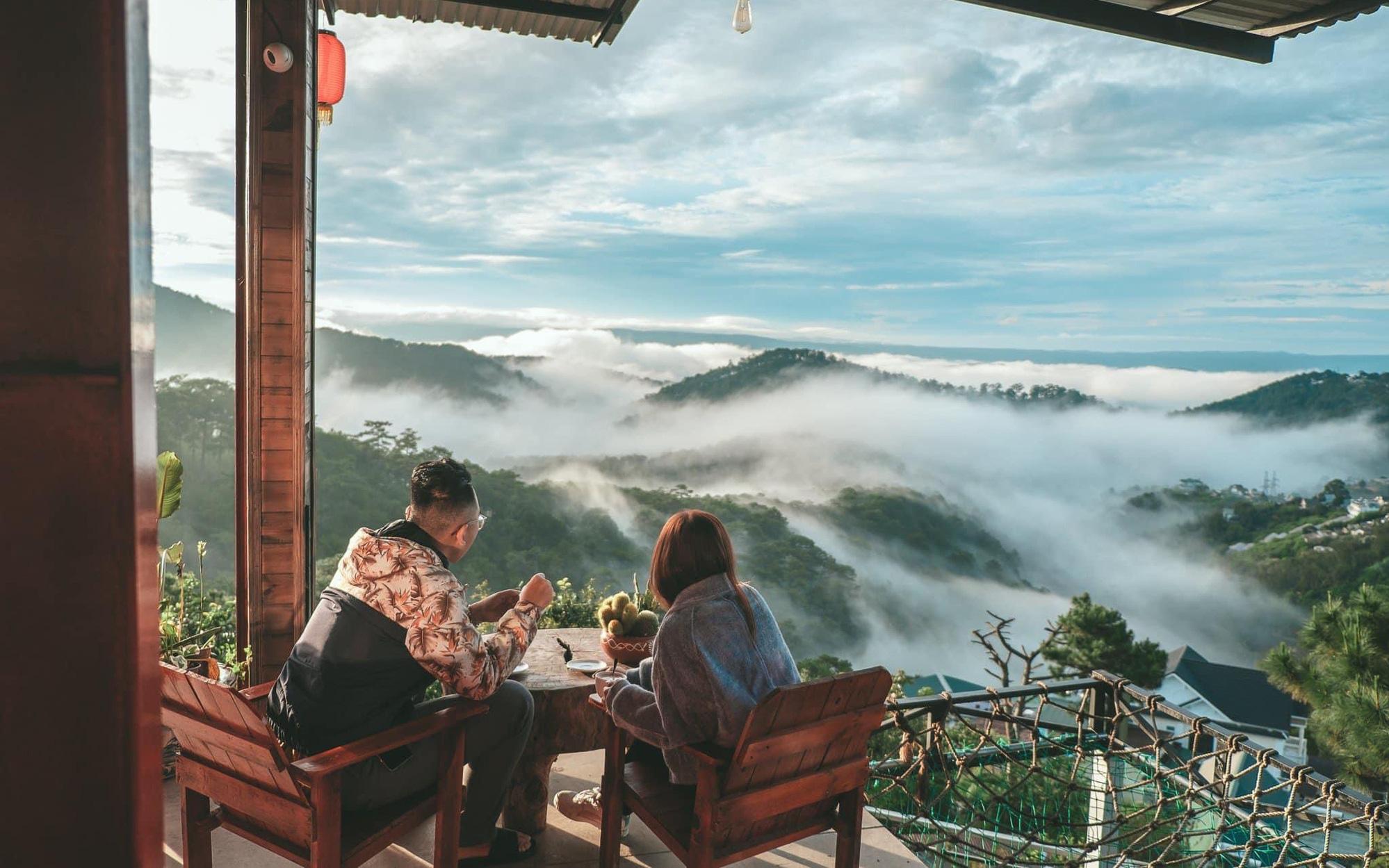 """Kimochi coffee địa điểm """"săn mây"""" không thể bỏ lỡ tại """"Vùng đất mơ"""" Đà Lạt"""