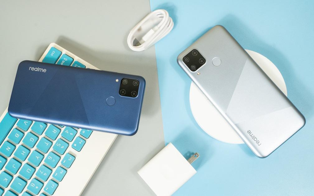 Khám phá tính năng thú vị của 4 camera trên Realme C15