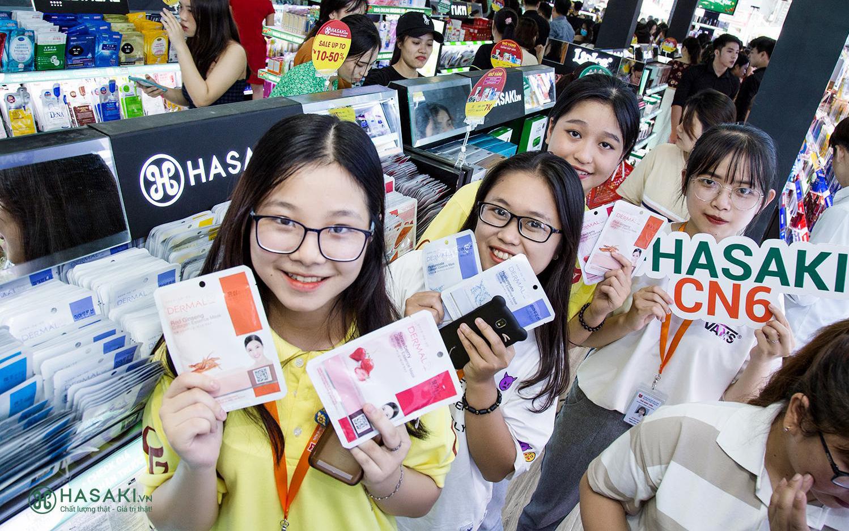 """Deal 1K-5K-15K mừng khai trương Hasaki CN15: Toàn hàng hot hit, có cả fullsize, tín đồ làm đẹp chắc chắn """"thích mê"""""""
