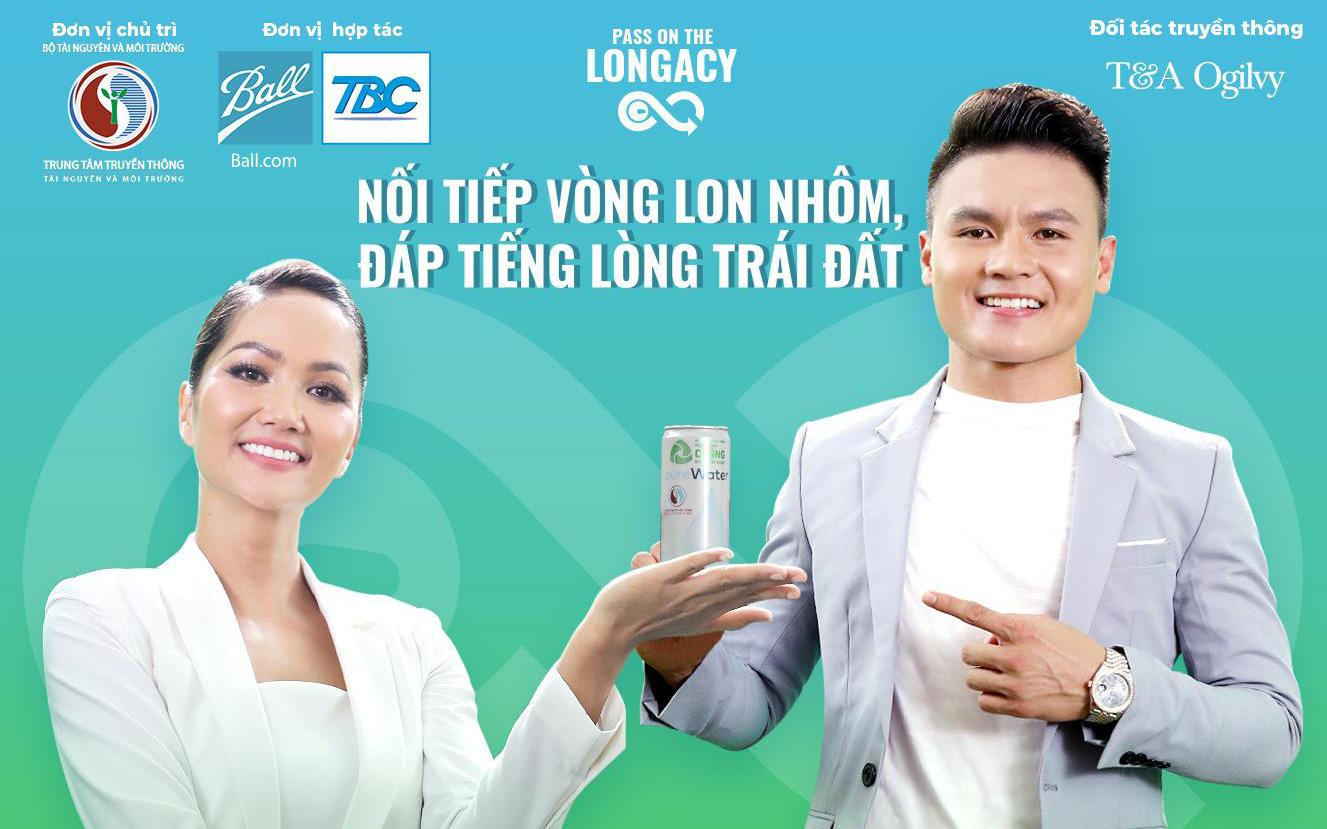"""""""Trai tài gái sắc"""" Quang Hải - H'Hen Niê và màn kết hợp ấn tượng: Dự án mới thú vị nào đang chờ khán giả?"""