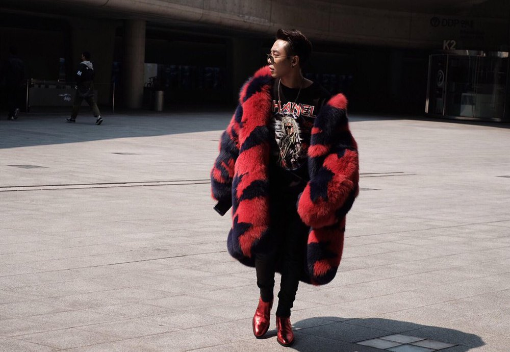 Seoul Fashion Week: Min xinh như gái Hàn, Hoàng Ku mặc áo lông 5kg giá 500 triệu ngồi ghế đầu xem show - Ảnh 14.