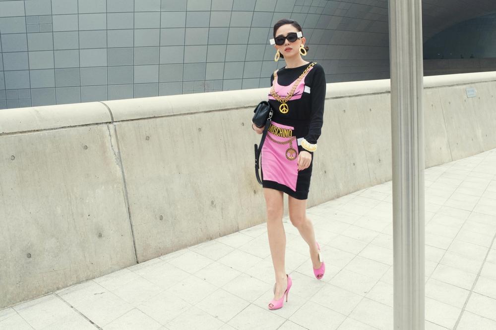 Tóc Tiên và Kelbin Lei xung trận Tuần lễ thời trang Seoul với phong cách chất lừ - Ảnh 6.